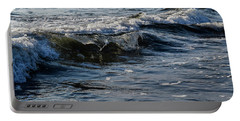 Portable Battery Charger featuring the photograph Pacific Waves by Nicole Lloyd
