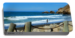 Portable Battery Charger featuring the photograph Pacifica Coast by Glenn McCarthy Art and Photography