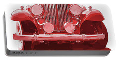 Packard Ask The Man Red Portable Battery Charger