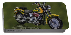 Packers Harley - Oil Portable Battery Charger
