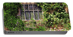 Portable Battery Charger featuring the photograph Packwood House Window by Tony Murtagh