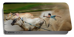 Pacu Jawi Bull Race Festival Portable Battery Charger