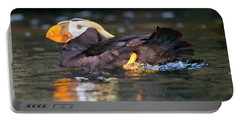 Paddling Puffin Portable Battery Charger