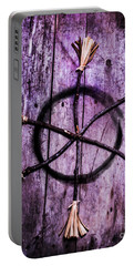 Pagan Or Witchcraft Symbol For A Gathering Portable Battery Charger