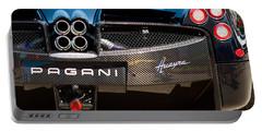 Pagani Huayra Black Portable Battery Charger