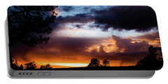 Pagosa Sunset 11-20-2014 Portable Battery Charger