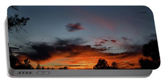 Pagosa Sunset 11-30-2014 Portable Battery Charger