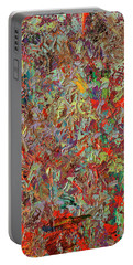 Paint Number 33 Portable Battery Charger by James W Johnson