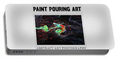 Paint Pouring Collection Portable Battery Charger by Modern Art Prints