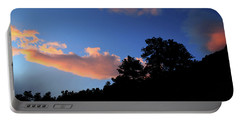 Portable Battery Charger featuring the photograph Painted Clouds by Shane Bechler
