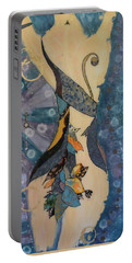 Painted Dancer Portable Battery Charger
