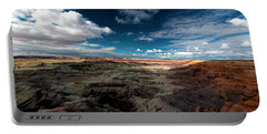 Painted Desert Portable Battery Charger by Charles Ables