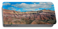 Painted Desert Portable Battery Charger by Charlotte Schafer