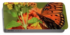 Painted Fall Colors Portable Battery Charger