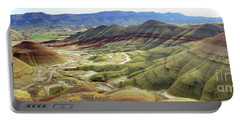 Painted Hills Panorama  Portable Battery Charger