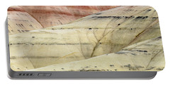 Portable Battery Charger featuring the photograph Painted Hills Ridge by Greg Nyquist