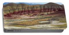 Painted Hills View From Overlook Portable Battery Charger