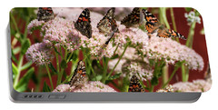 Painted Ladies Gathering Portable Battery Charger