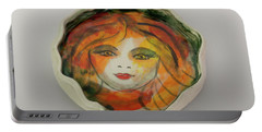 Painted Lady-1 Portable Battery Charger