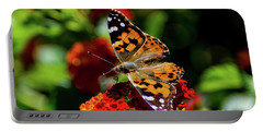 Painted Lady Butterfly Portable Battery Charger