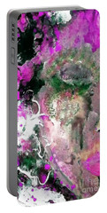 Painted Lady Portable Battery Charger by Lisa Kaiser