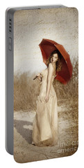 Painted Lady Narrow Portable Battery Charger