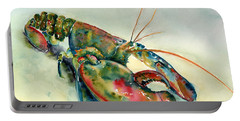 Painted Lobster Portable Battery Charger