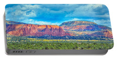 Portable Battery Charger featuring the photograph Painted New Mexico by AJ Schibig