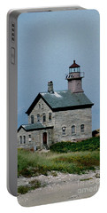 Painted Northwest Block Island Lighthouse Portable Battery Charger