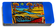 Painted Piano Portable Battery Charger