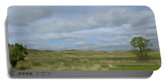 Portable Battery Charger featuring the photograph Painted Plains by JoAnn Lense