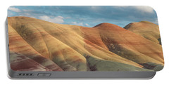 Painted Ridge And Sky Portable Battery Charger by Greg Nyquist