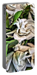 Painted Roses Portable Battery Charger