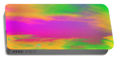 Painted Sky - Abstract Portable Battery Charger