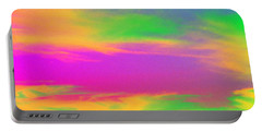 Painted Sky Portable Battery Charger by Linda Hollis