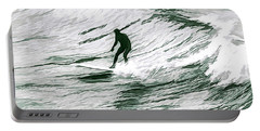 Painted Surfer Portable Battery Charger