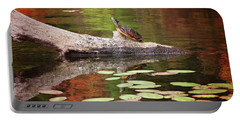 Painted Turtle Portable Battery Charger