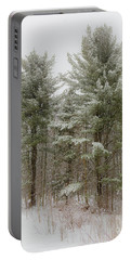 Painterly Pines Portable Battery Charger