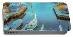 Painterly Tuckerton Seaport Portable Battery Charger
