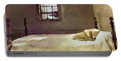 Painting Of The Print, Master Bedroom Portable Battery Charger