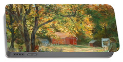 Painting The Fall Colors Portable Battery Charger