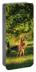 Pair Of Baby Deer Portable Battery Charger
