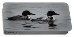 Pair Of Loons Portable Battery Charger