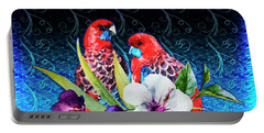 Paired Parrots Portable Battery Charger