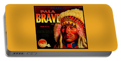 Pala Brave 1920s Sunkist Oranges Portable Battery Charger
