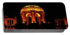Palace Of Fine Arts - Night Profile Portable Battery Charger