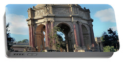 Palace Of Fine Arts Portable Battery Charger by Steven Spak