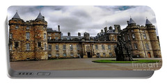 Palace Of Holyroodhouse  Portable Battery Charger by Judy Palkimas
