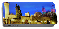 Portable Battery Charger featuring the photograph Palace Of The Shirvanshahs by Fabrizio Troiani