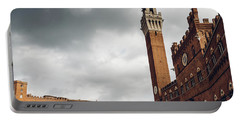 Palazzo Pubblico, Siena, Tuscany, Italy Portable Battery Charger